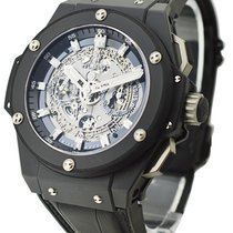 Hublot 701.CI.0170.RX King Power 48mm Unico Black Magic in...