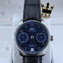 萬國 IW500710  Portugieser Automatic (Blue Dial )