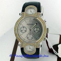 DeLaneau Three Time Zone White gold 37mm Silver United States of America, California, Newport Beach