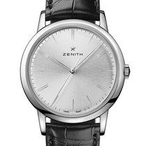 Zenith Elite Steel 39mm Silver