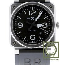 Bell & Ross BR 03-92 Steel BR0392-BLC-ST new