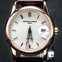 Frederique Constant Gentleman's Gold Plated Wrist Watch...