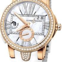 Ulysse Nardin Executive Dual Time Lady Pозовое золото 40mm