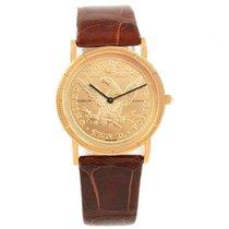 Corum Oro amarillo 33mm Cuarzo Coin Watch usados