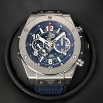 Hublot Chronograph 45mm Automatic 2019 new Big Bang Unico Blue
