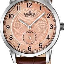 Candino Reloj de dama nuevo Reloj con estuche y documentos originales