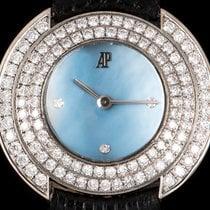 Audemars Piguet Millenary White gold 28mm Blue No numerals