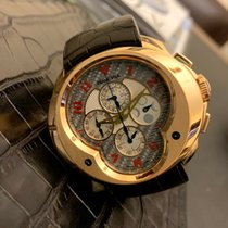 Franc Vila Rose gold Chronograph pre-owned