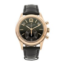 Patek Philippe Annual Calendar Chronograph pre-owned 40.5mm Rose gold