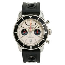 Breitling Superocean Héritage 46 Steel 46mm Silver No numerals United States of America, New York, New York