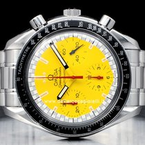 Omega Speedmaster Reduced pre-owned 35.5mm Yellow Steel