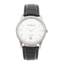 Jaeger-LeCoultre Master Ultra Thin Date Acero 39mm Plata Sin cifras