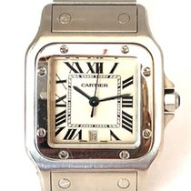 Cartier Santos Galbée Steel 32mm White Roman numerals United States of America, New York, New York