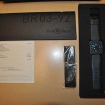 Bell & Ross BR 03-92 Ceramic BR0392-CERAM-BLUE 2014 pre-owned