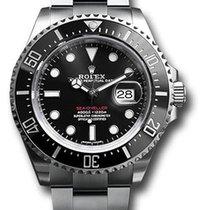 Rolex Sea-Dweller Сталь 43mm Чёрный Без цифр