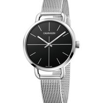 ck Calvin Klein Steel 36mm Quartz K7B23121 new