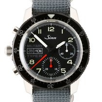 Sinn 856 / 857 Acier 41mm Noir