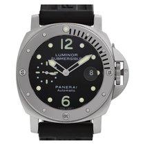 Panerai Luminor Submersible occasion 44mm Noir Date Caoutchouc