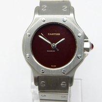 Cartier Santos (submodel) Stahl 24mm Bordeaux Deutschland, Dresden
