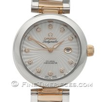 Omega De Ville Ladymatic Co-Axial 34 mm mit Brillanten...