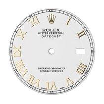 Rolex DateJust 41mm White/Gold Roman Numerals Original Factory...