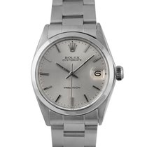Rolex Midsize Oysterdate Steel with Silver Dial Ref: 6466