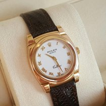 Rolex perfect 5310 Cellini Cestello 18K Solid Gold new service