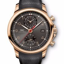 IWC Portuguese Yacht Club Chronograph Rose Gold Ardoise Dial