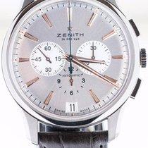 Zenith Captain Chronograph Acier 42mm Argent Sans chiffres