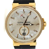 Ulysse Nardin Marine Chronometer 41mm Rose gold 41mm Mother of pearl United States of America, New York, New York