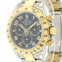 Rolex | Daytona steel and gold ref. 116523, Blue Racing Dial,...