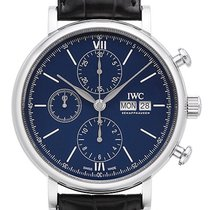 IWC Stål 42mm Automatisk IW391023 ny