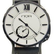 N.O.A Noa Slim Watch 18.60 White Dial Black Case 40mm  W/ B&p ...