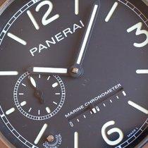Panerai Хронометр 119mm Механические 2010 подержанные Чёрный