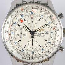 Breitling Navitimer World Stål 46mm Hvit Ingen tall