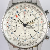 Breitling Navitimer World Stål 46mm Hvit Ingen tall