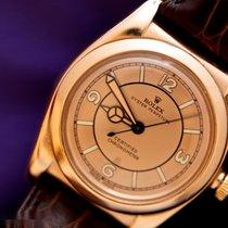 Rolex Oro rosa Automático Oro Arábigos 31mm usados Bubble Back