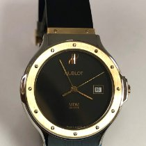 Hublot Classic Gold/Steel 32mm Black No numerals