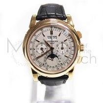 Patek Philippe Perpetual Calendar Chronograph Oro rosado 40mm Plata