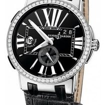 Ulysse Nardin Executive Dual Time Сталь 43mm Черный Римские Россия, Moscow