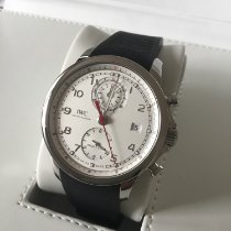 IWC Portugieser Yacht Club Chronograph Stahl 43.5mm Silber Arabisch Deutschland, Trier