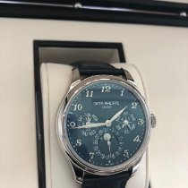 Patek Philippe Perpetual Calendar White gold 39mm Blue Arabic numerals United States of America, Texas, Houston