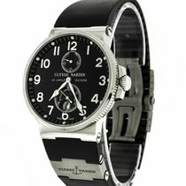 Ulysse Nardin Marine Chronometer 41mm Steel 41mm Black Arabic numerals United States of America, Florida, Sarasota