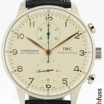 IWC Portugieser Chronograph Stahl 41mm Weiß Deutschland, Stuttgart