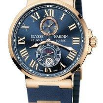 Ulysse Nardin Marine Chronometer 43mm Rose gold 43mm Blue Roman numerals