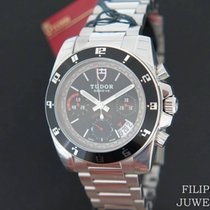 Tudor Grantour Chrono new 2019 Automatic Chronograph Watch with original box and original papers 20350N