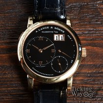 A. Lange & Söhne Lange 1 Rose gold 38.5mm Black United States of America, California, Irvine