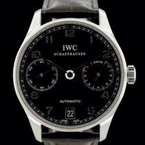 IWC Portuguese Automatic Steel 42mm Black