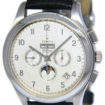 Zenith El Primero Chronograph Steel 44mm Silver Arabic numerals United States of America, Florida, 33431