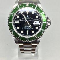 Rolex Submariner Date Acier 40mm Noir Sans chiffres Belgique, koksijde